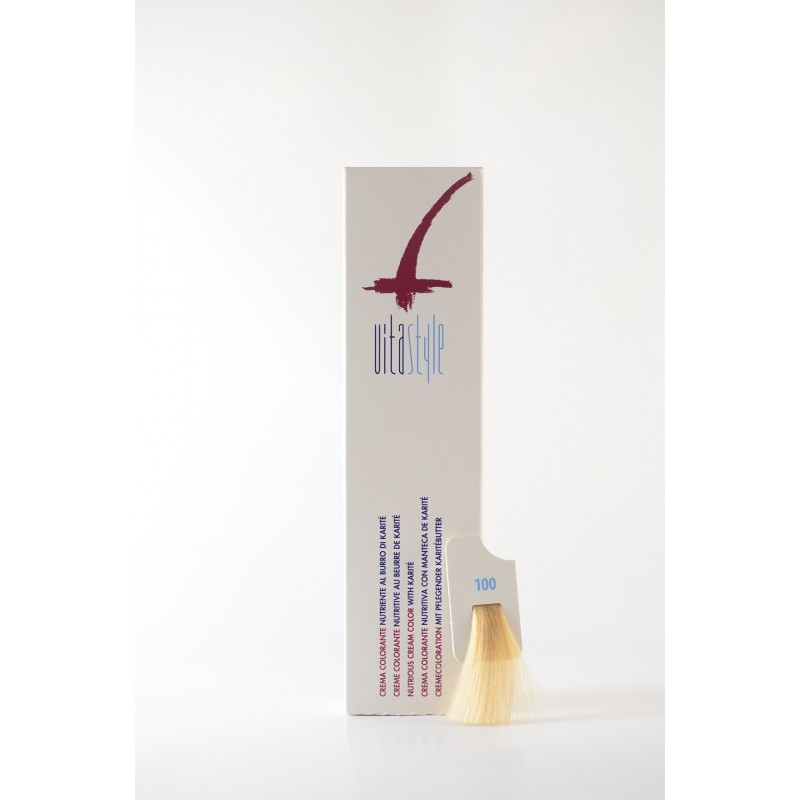 100 ultrabiondo naturale Crema colorante Vitastyle