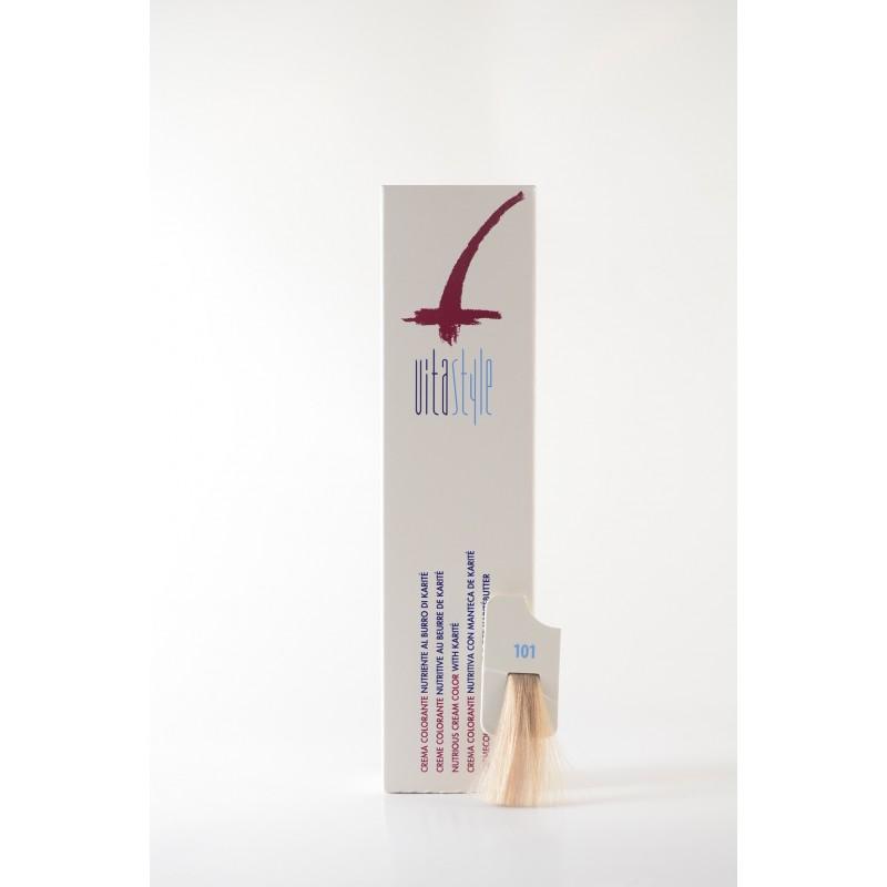 101 ultrabiondo cenere Crema colorante Vitastyle