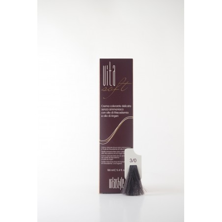 3/0 Castano scuro Vitasoft crema colorante senza ammoniaca