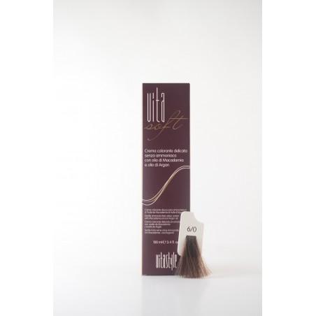 6/0 Biondo scuro Vitasoft crema colorante senza ammoniaca