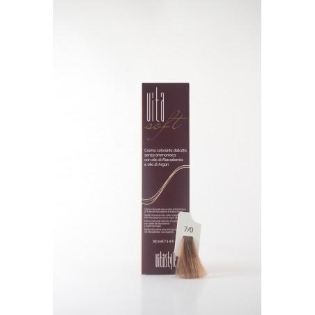7/0 Biondo Vitasoft crema colorante senza ammoniaca