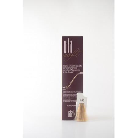 9/0 Biondo Chiarissimo Vitasoft crema colorante senza ammoniaca