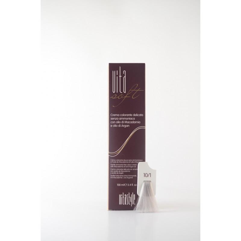 10/1 Argento Vitasoft crema colorante senza ammoniaca
