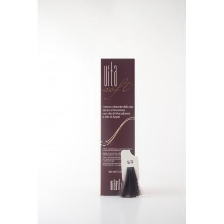 4/9 Marrone Scuro Vitasoft crema colorante senza ammoniaca