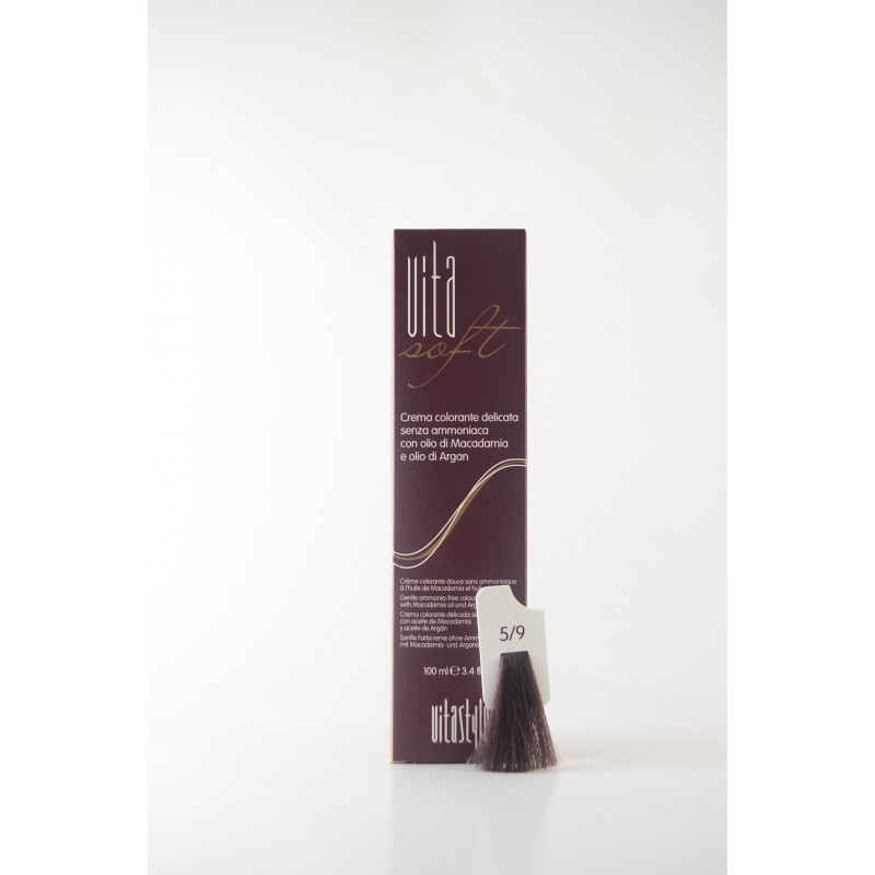 5/9 Cacao Vitasoft crema colorante senza ammoniaca