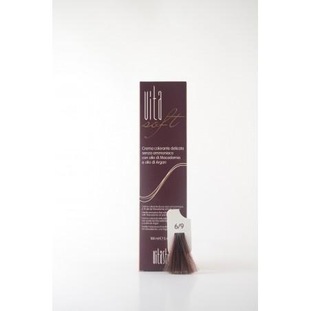 6/9 Nocciola Vitasoft crema colorante senza ammoniaca