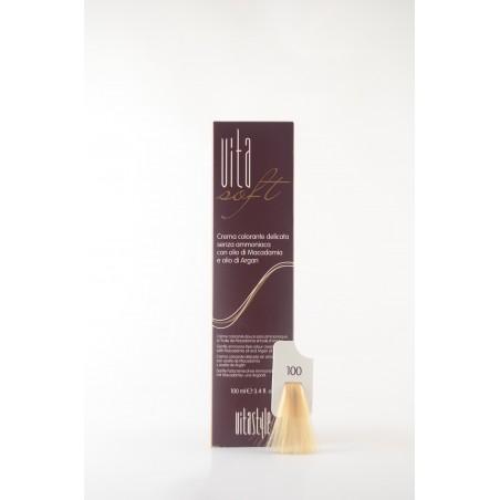 100 Biondissimo naturale Vitasoft crema colorante senza ammoniaca