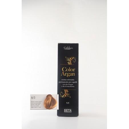 8/3 Biondo Chiaro Dorato color argan hair potion