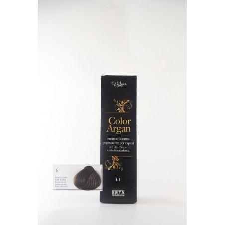 6 Biondo Scuro color argan hair potion