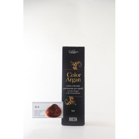 8/4 Biondo Chiaro rame color argan hair potion