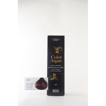 6/4 Biondo scuro rame color argan hair potion