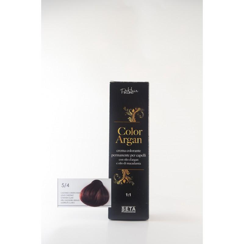 5/4 Castano Chiaro rame color argan hair potion