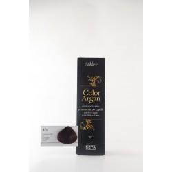 4/5 Mogano scuro color argan hair potion