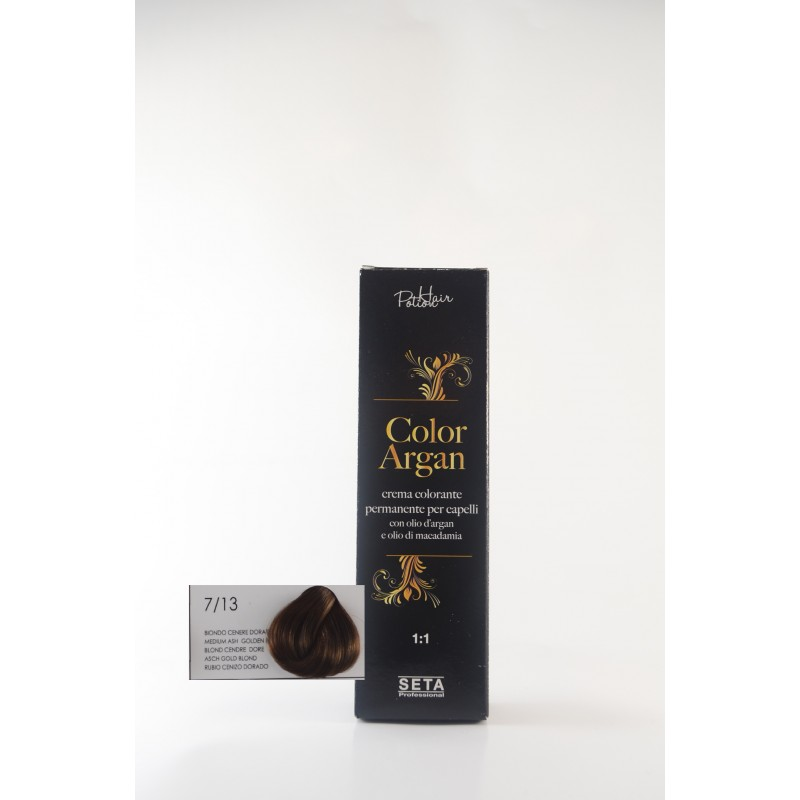 7/13 Biondo cenere dorato color argan hair potion