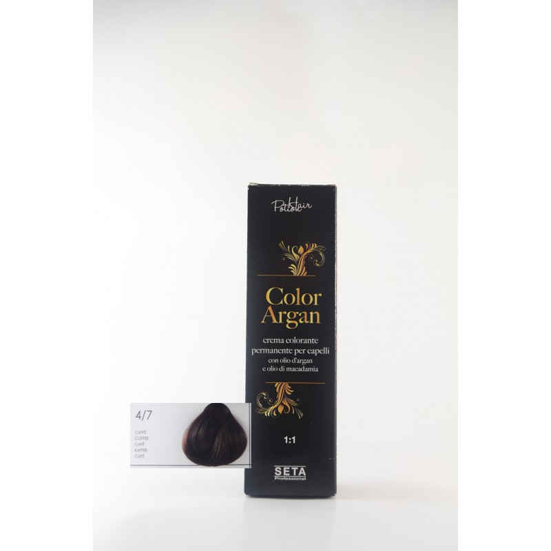 4/7 caffè color argan hair potion