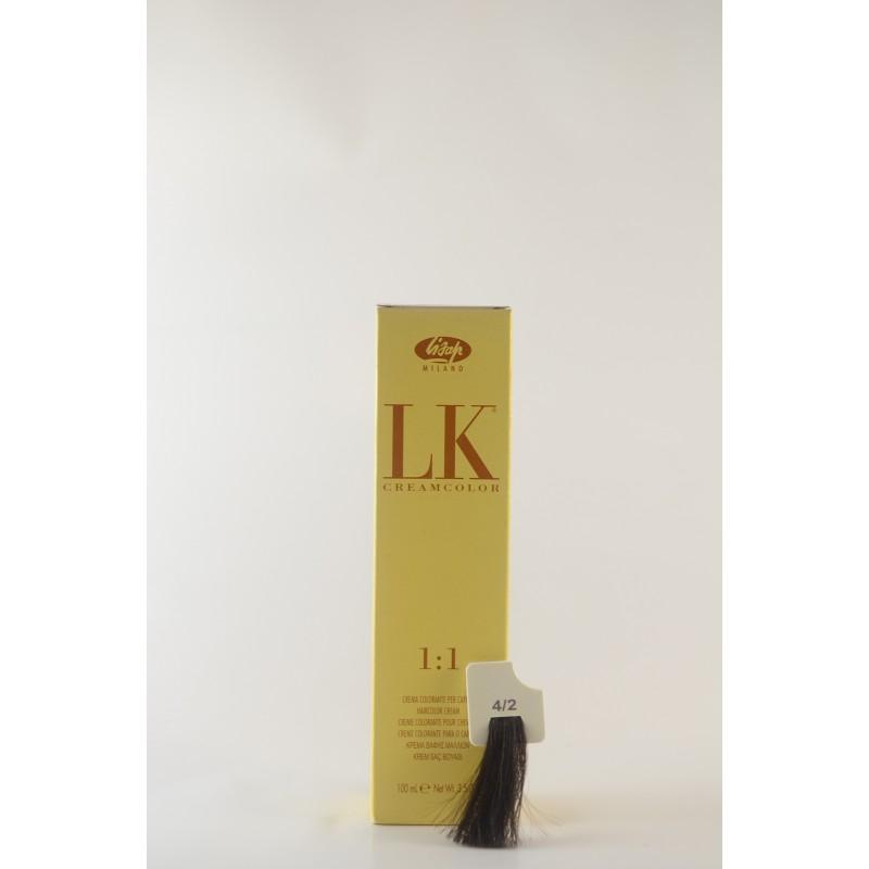 4/2 castano cenere LK cream color 100 ml