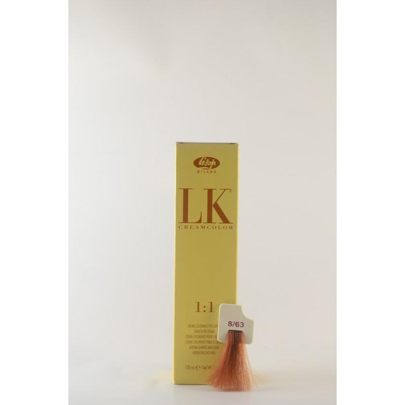 8/63 biondo chiaro rame dorato LK cream color 100 ml