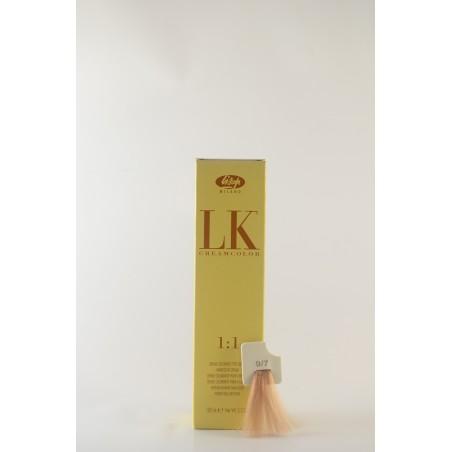 9/7 biondo chiarissimo beige LK cream color 100 ml