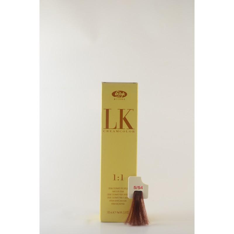 5/54 rosso mogano  LK cream color 100 ml