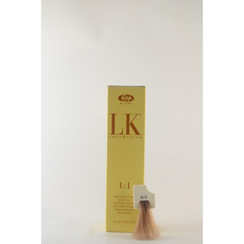 8/2 biondo chiaro cenere LK cream color 100 ml