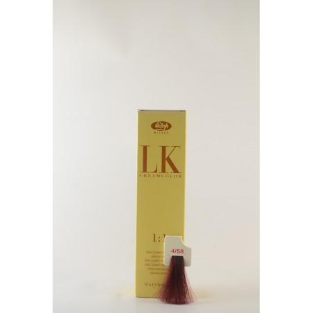 4/58 rosso porpora LK cream color 100 ml