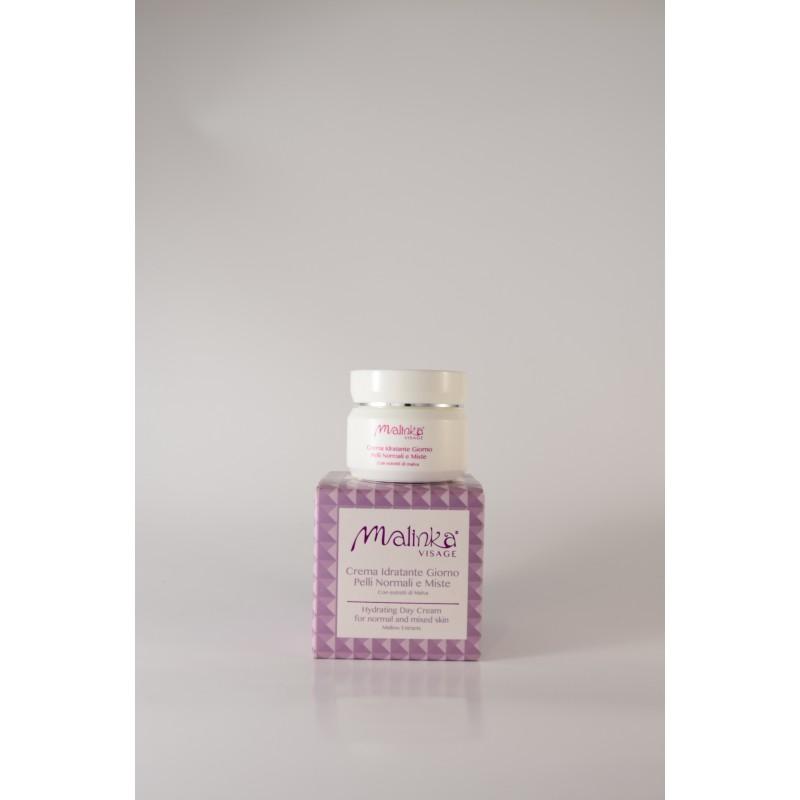 Crema idratante giorno pelli normali e miste Malinka 50 ml
