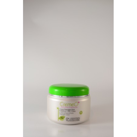 Crema massaggio base eudermica viso/corpo Cremeò 500 ml