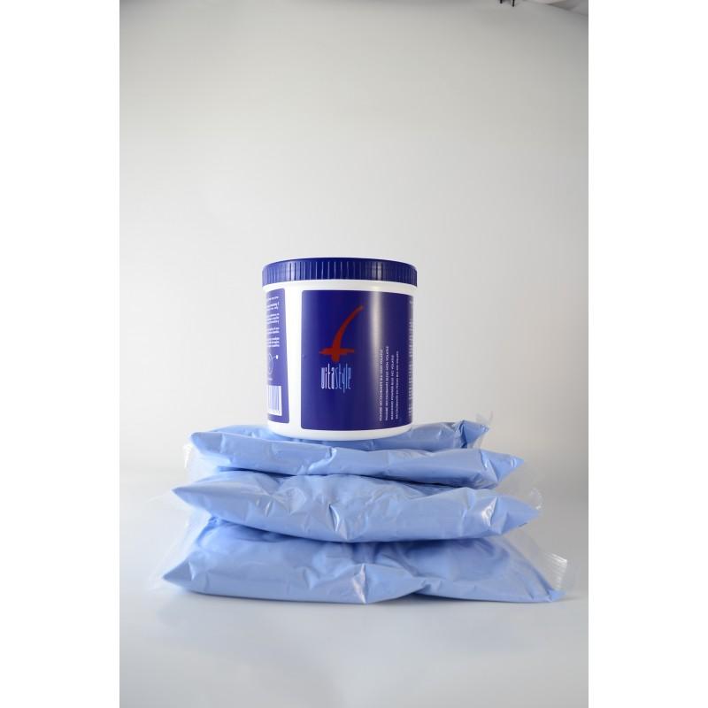 Kit decolorante blu Vitastyle 3 kg